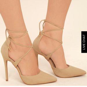 Ankle Tie Heels